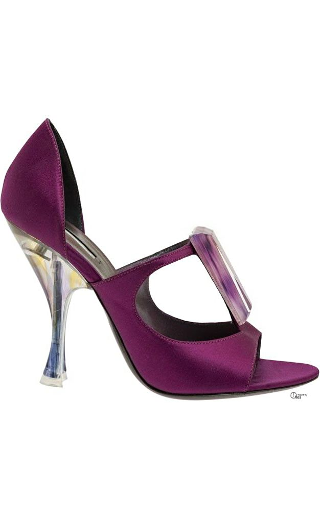 Purple shoes · Giorgio Armani ○ Spring 2014