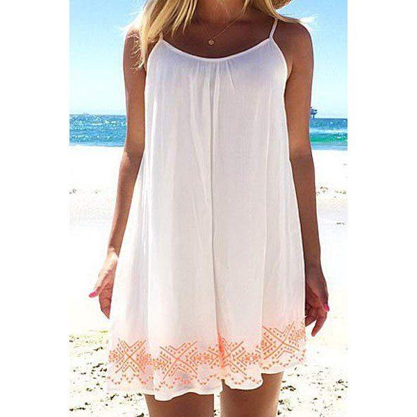 7aae8cc0014 Sexy Printed Halter Backless Chiffon Beach Dress For Women