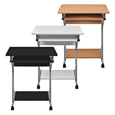 Computertisch Schreibtisch Burotisch Computerwagen Pc Tisch Laptop Auf Rollen Computertisch Burotisch Schreibtisch