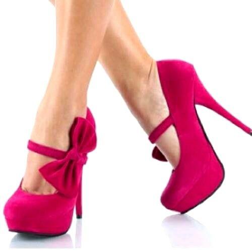 la mejor actitud completo en especificaciones atractivo y duradero Tacones fucsia   Tacones   Zapatos, Tacones de moda y ...