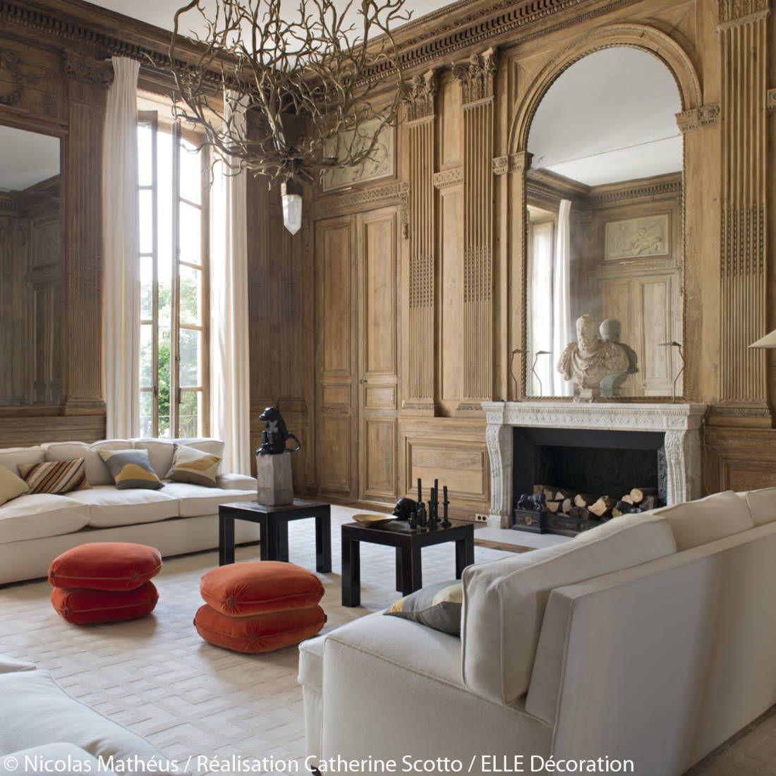 Un Appartement Entre Esprit Grand Siècle Et Design Des 70