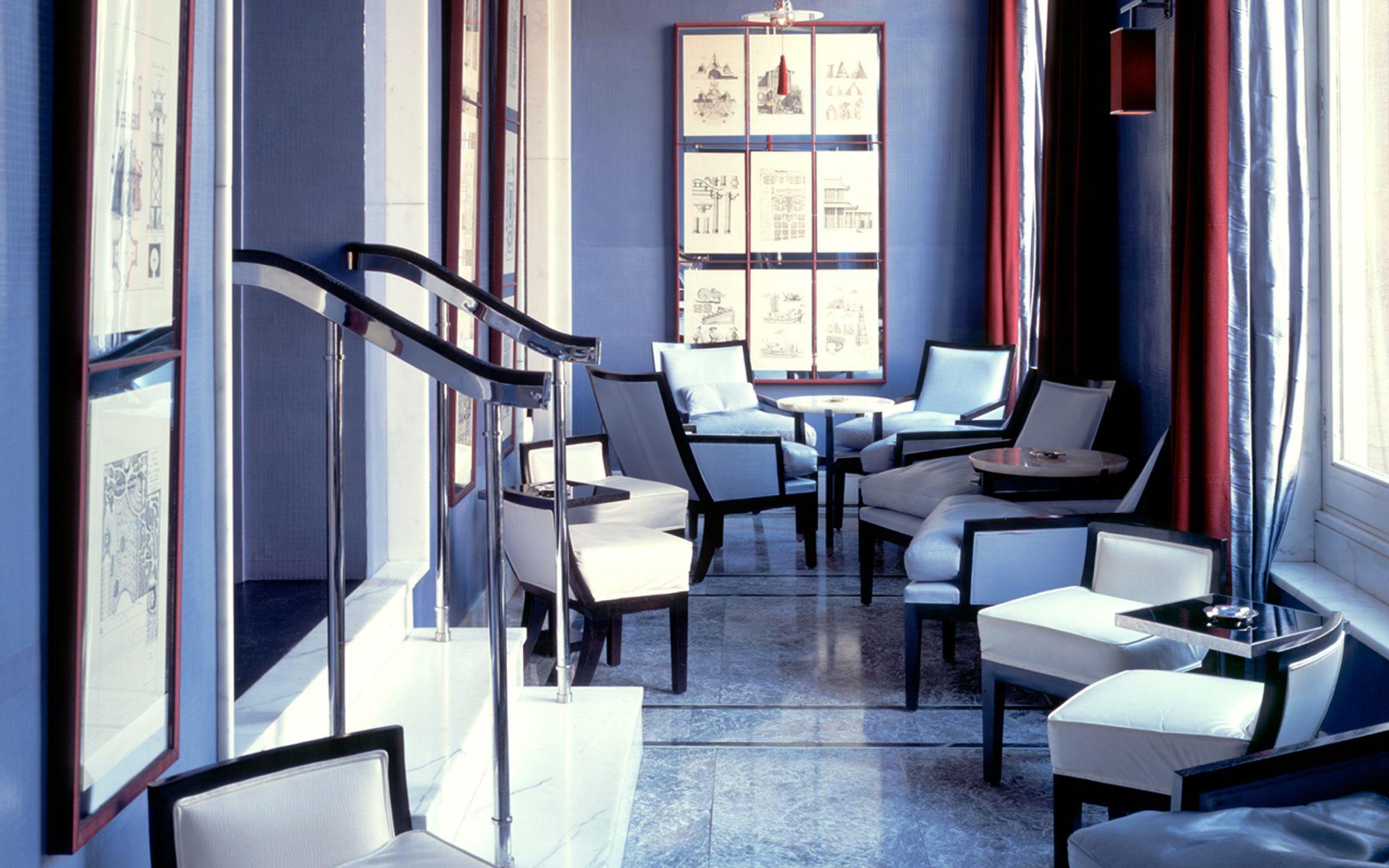 berkeley interior design. David Collins - The Blue Bar, Berkeley Hotel, Knightsbridge, London, UK · Restaurant Interior DesignBar Design O
