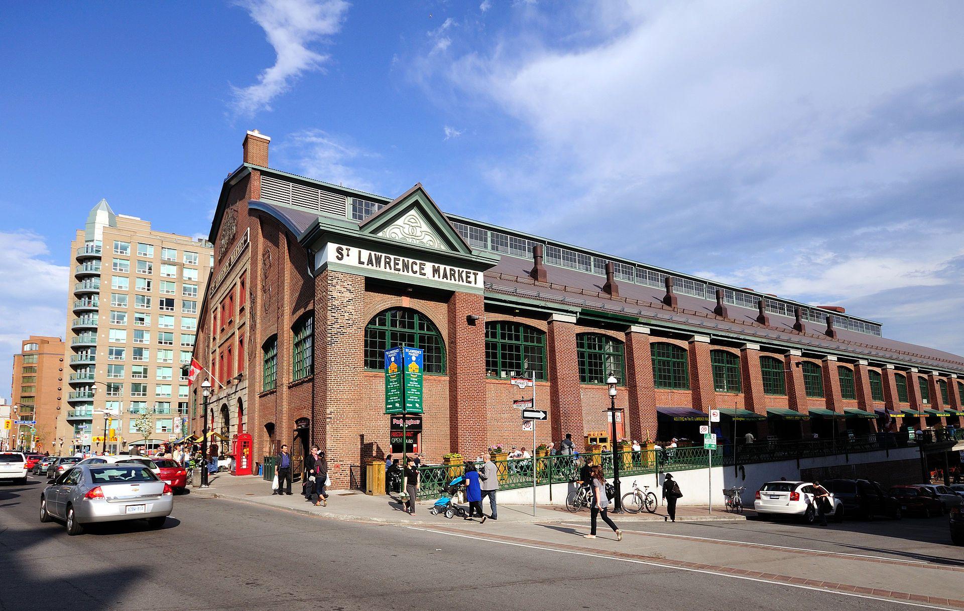 Toronto - ON - St Lawrence Market - St. Lawrence Market – Wikipedia, wolna encyklopedia