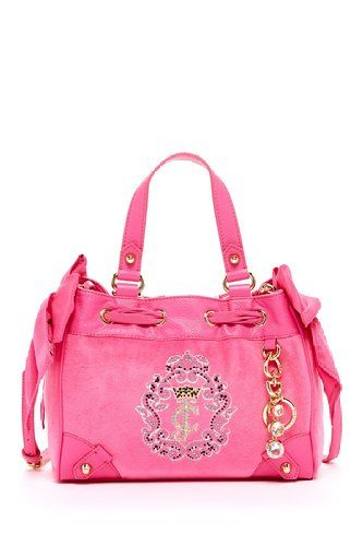 Amazon  Juicy Couture Womens JC Crown Cameo Velour Mini Daydreamer Handbag ca9d2b1340