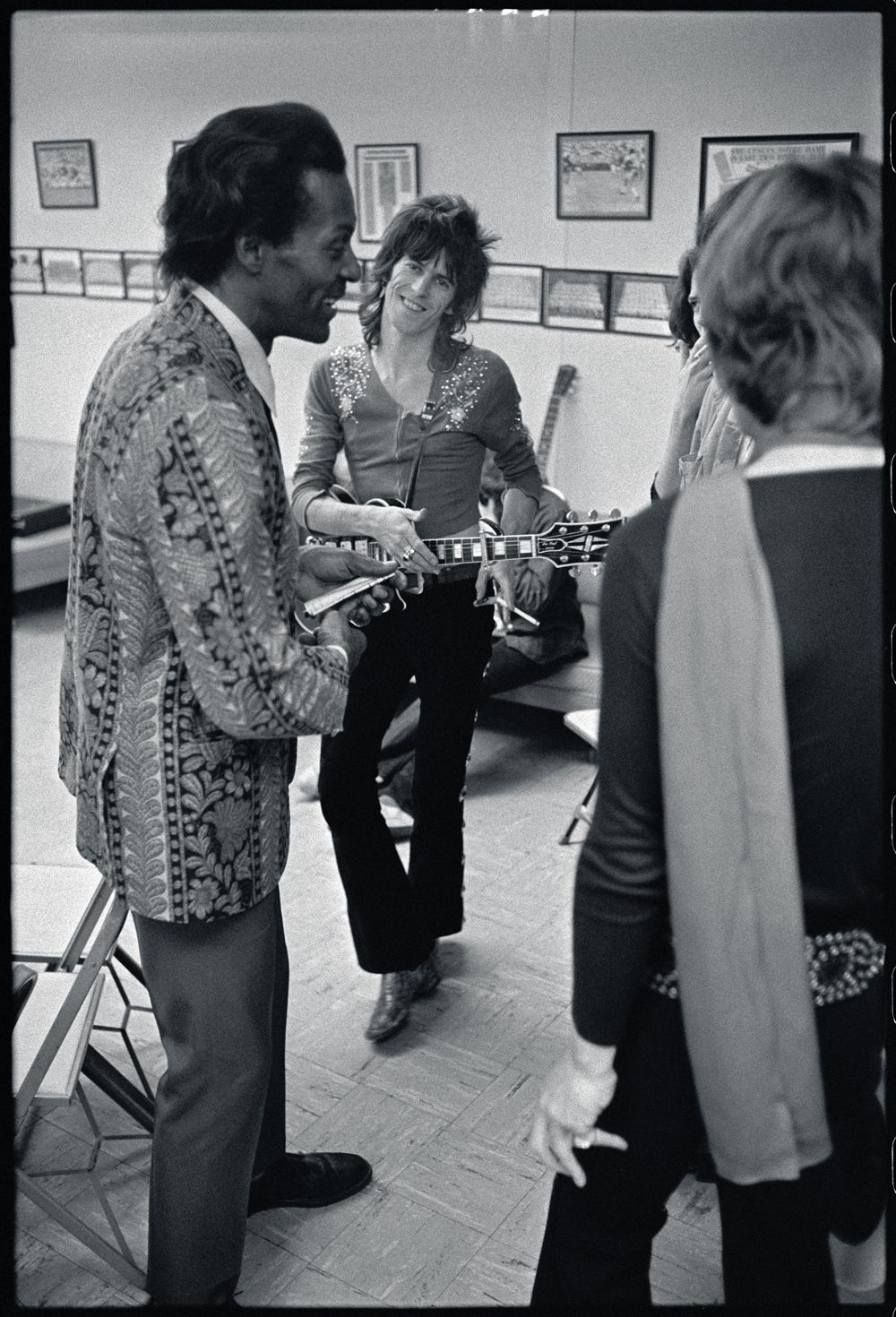 Chuck, Keith and Mick