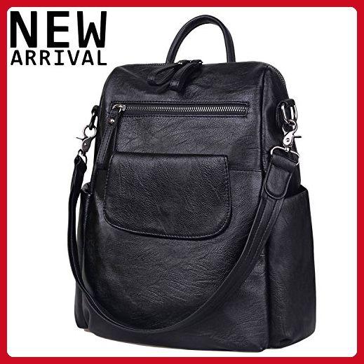 3ef195ebf Jack&Chris Soft PU Leather Backpack Handbags for Women Satchel Shoulder Bag,  WB202C - Top handle bags (*Amazon Partner-Link)