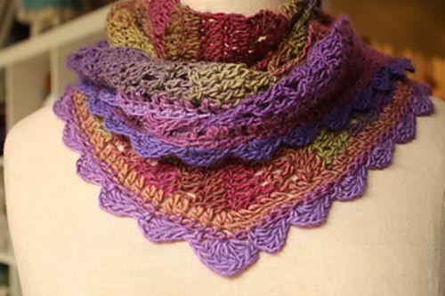 Shawlini Scarf By Kathy Kelly - Free Crochet Pattern - (ravelry ...