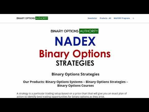 Binary strategy home page