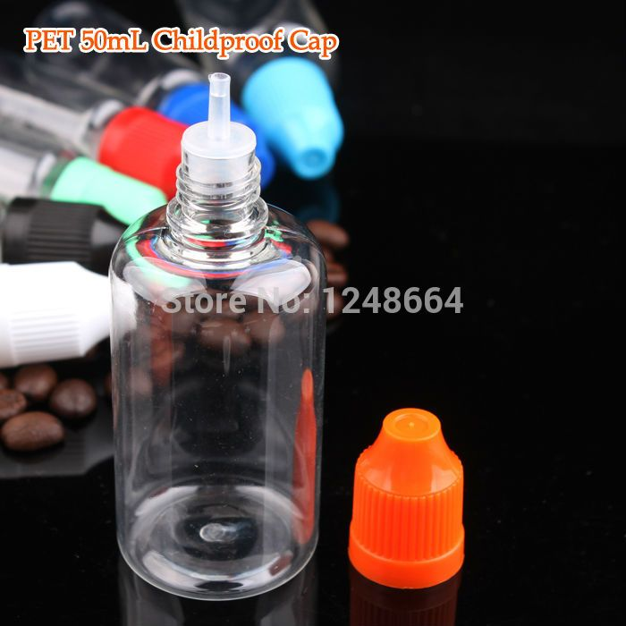 China Manufacturer Pet 1000pcs Lot 50ml Childproof Dropper Bottles
