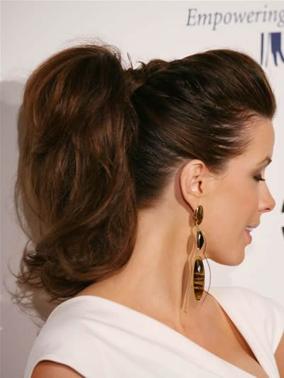 Astonishing 1000 Images About Ponytail Hairstyles On Pinterest At Home Short Hairstyles For Black Women Fulllsitofus