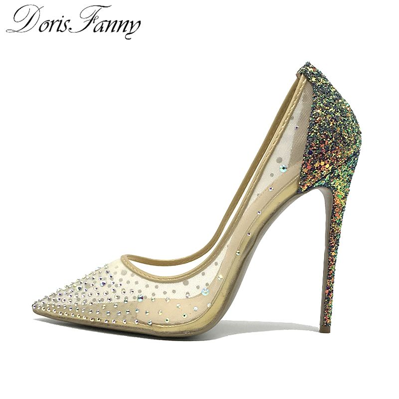 3ca020729b Find More Women's Pumps Information about DorisFanny blingbling ...