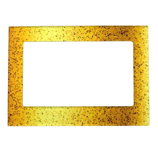 SOLD 3 Magnetic Frames Glitter Graphic Gold! #Zazzle #Magnetic #Frame #Glitter #Graphic #Gold http://www.zazzle.com/magnetic_frame_glitter_graphic_gold-256323004011018766