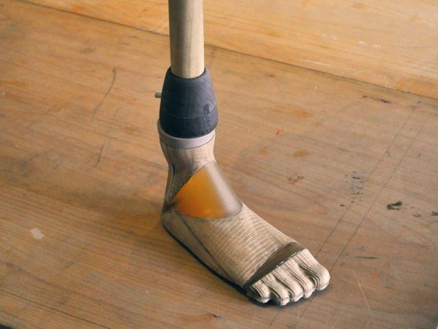 Fablab prothese voet