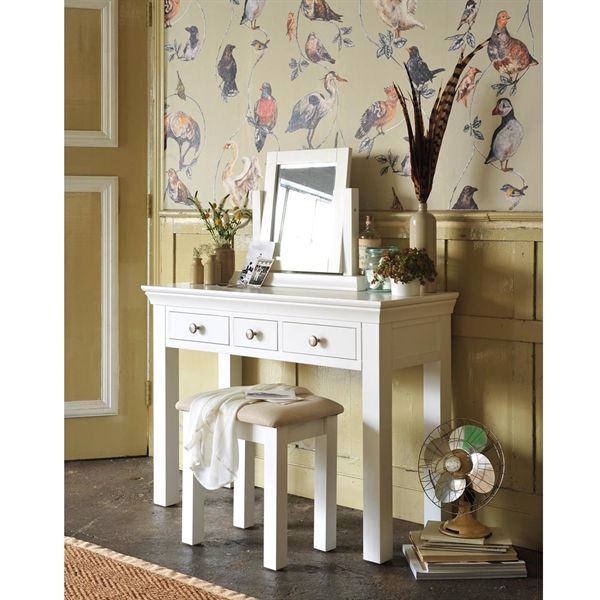 Best Chantilly White Dressing Table Set White Dressing Tables 400 x 300