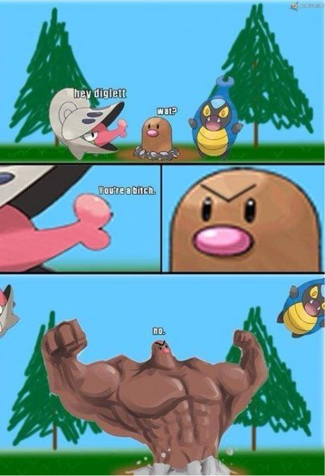 The truth of diglett... | Funny Stuff | Pinterest | Truths ...  The truth of di...