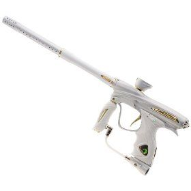 Dye NT11 Limited Edition Paintball Gun - White / Gold