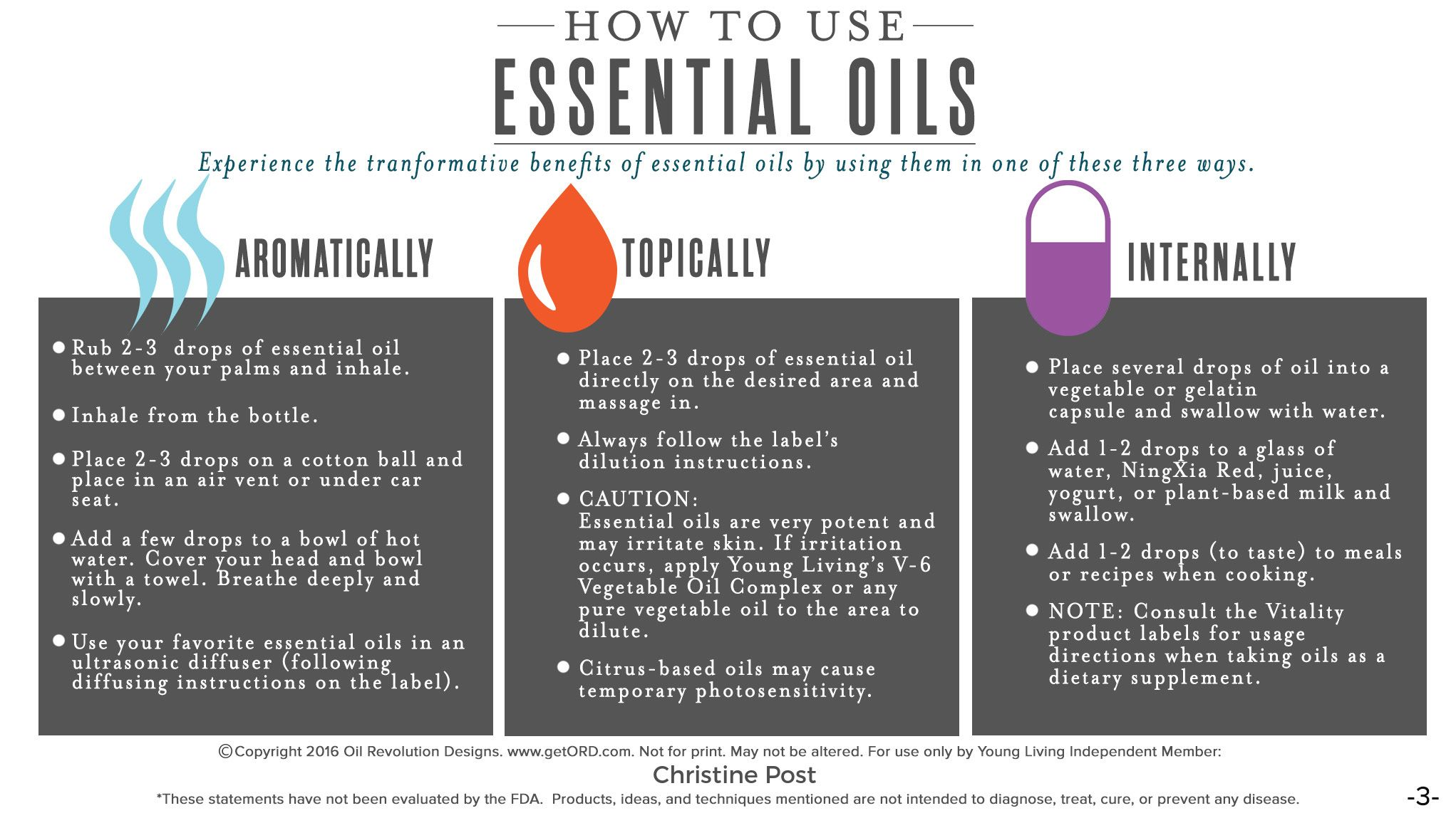 3 ways to use essential oils | Nutra Fitness NTX ...