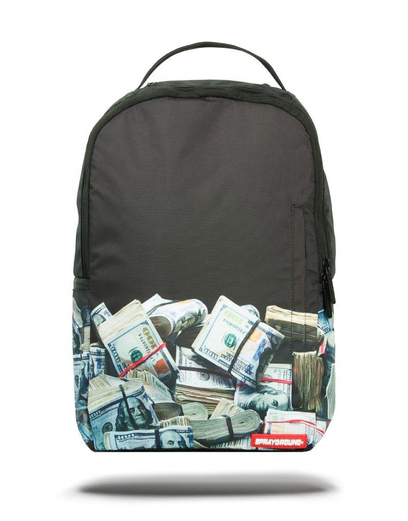 1e21a3665a2 MONEY ROLLED STYLE  DLX Rolling Backpack