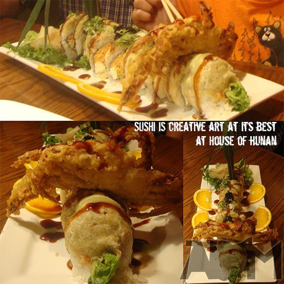Lovely House Of Hunan In Fairlawn, Ohio Princess Sushi Platter Is Delicious And  Enough To Split