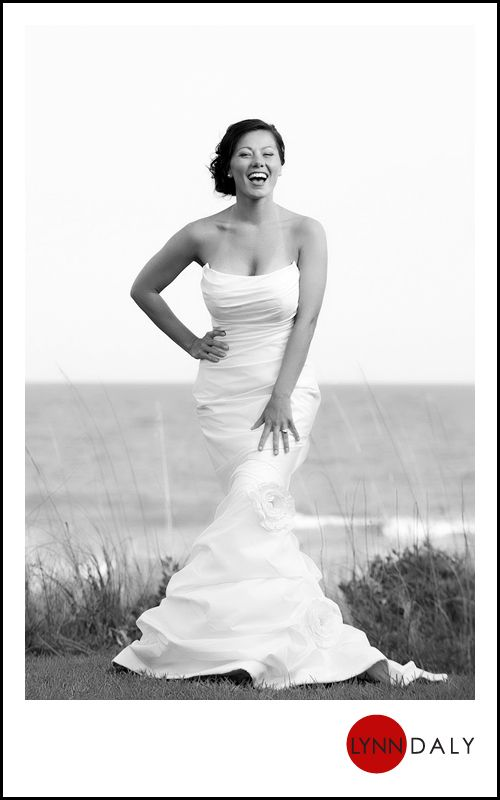 myrtle beach wedding, also love the dress