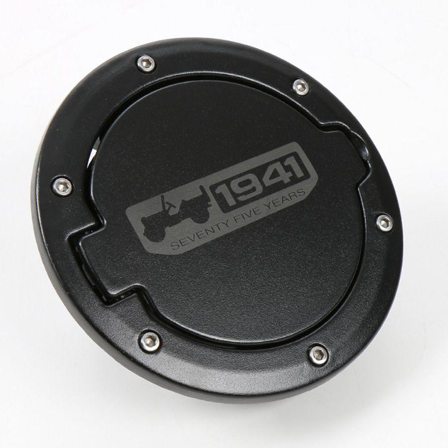 2007-2017 Jeep Wrangler 2 Door Black Fuel Filler Door MOPAR GENUINE OEM NEW