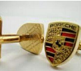 Online veilinghuis Catawiki: 1 set Porsche manchetknopen / cufflinks - metaal