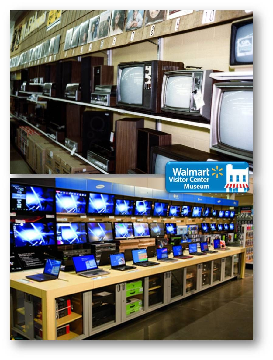 Walmart Then And Now Tvs Sure Have Changed Tv Oldtvs