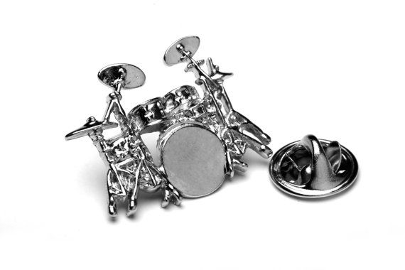 Hey, I found this really awesome Etsy listing at https://www.etsy.com/listing/180414370/drum-kit-pin-badge-lapel-pin-great-gift