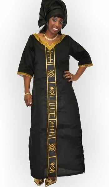 1b3967b6f30c7f African Linen Dresses - DeZango Celebrities Zone
