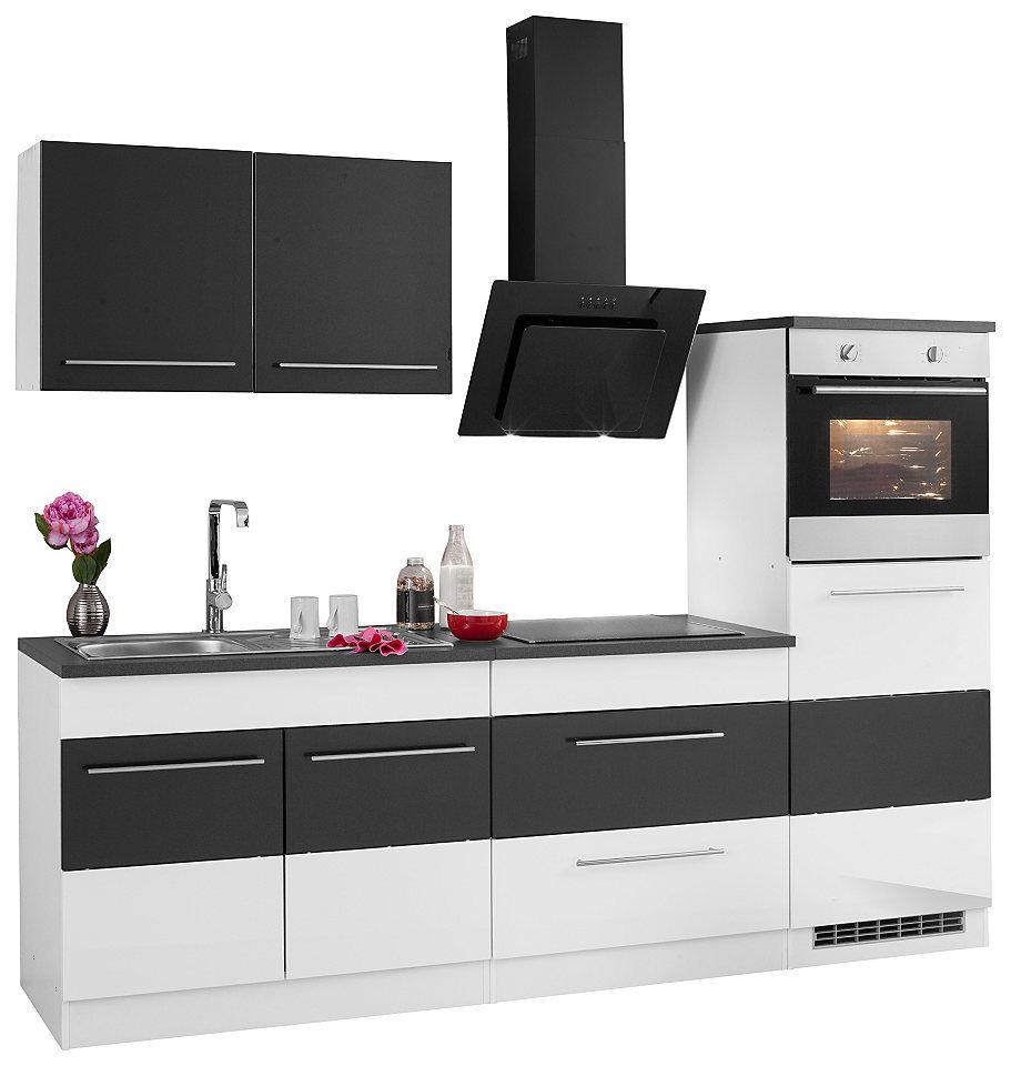 Held Möbel Küchenzeile mit E-Geräten »Trient«, Breite 240 cm Jetzt ...