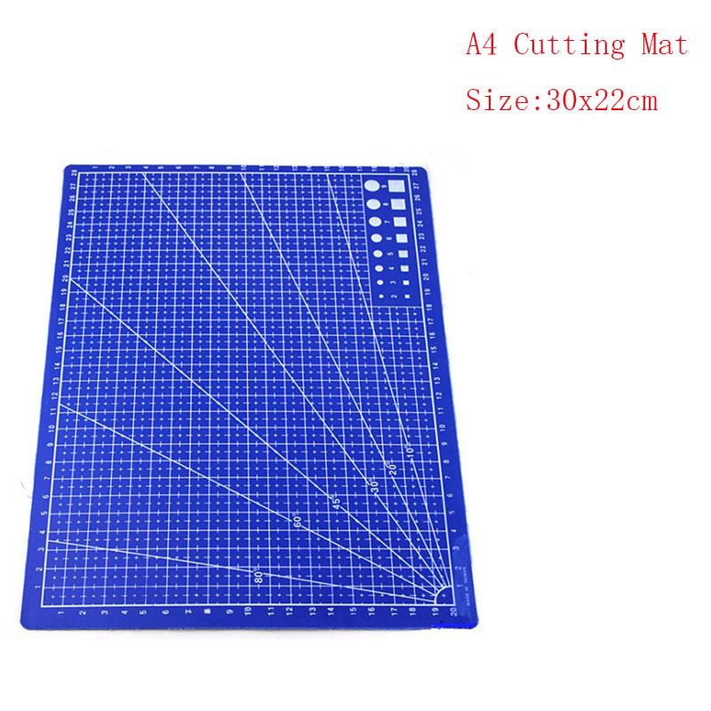 30*20cm a4 grid lines cutting mat precision plotter self healing cutting mat paper board cutting mat for school supplies cutter