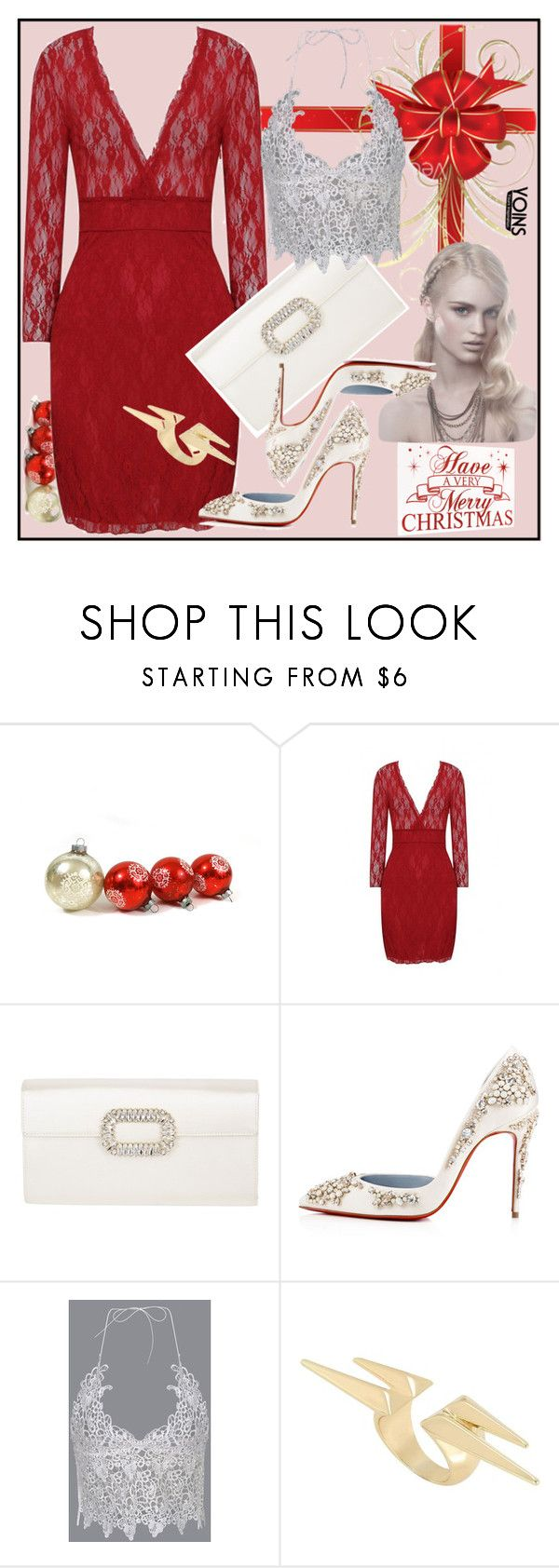 """""""Yoins 42"""" by spolyvore1 ❤ liked on Polyvore featuring Roger Vivier, yoins, yoinscollection and loveyoins"""