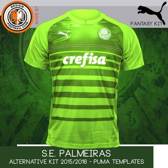 Design Football Club  S.E. Palmeiras - Puma - 2015 2016  b91a6014b6095