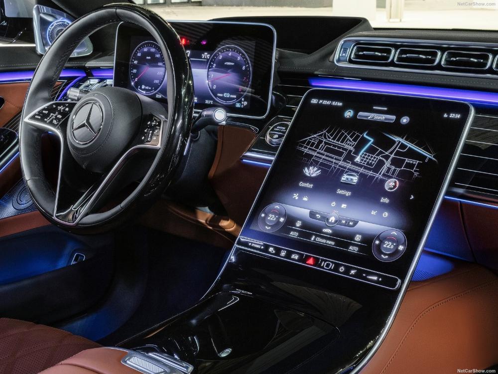 Mercedes Benz S Class 2021 Picture 104 Of 222 Interior Benz S Class Mercedes Benz Mercedes Interior