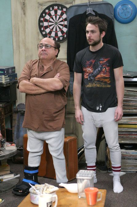 Image result for charlie and frank's apartment | It's always sunny ...