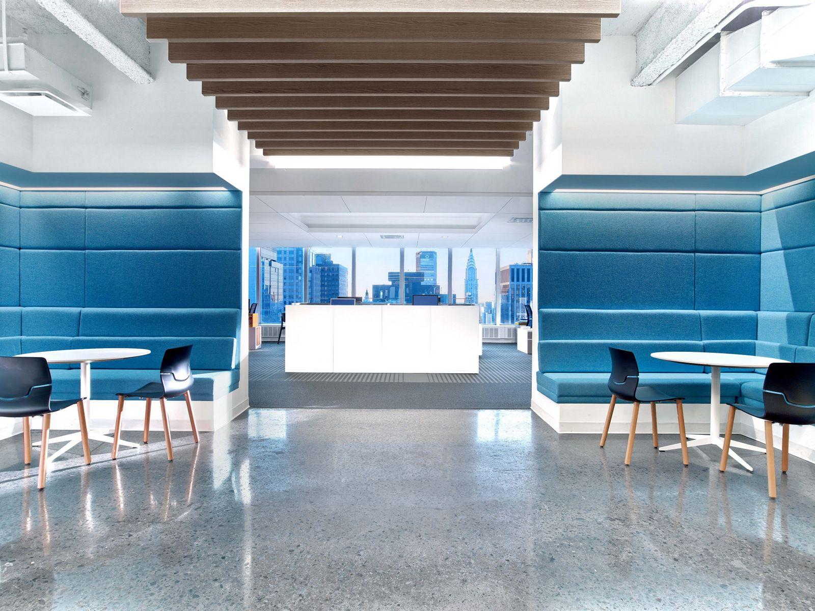 Innenarchitektur York nickelodeon headquarters phase 1 york city office