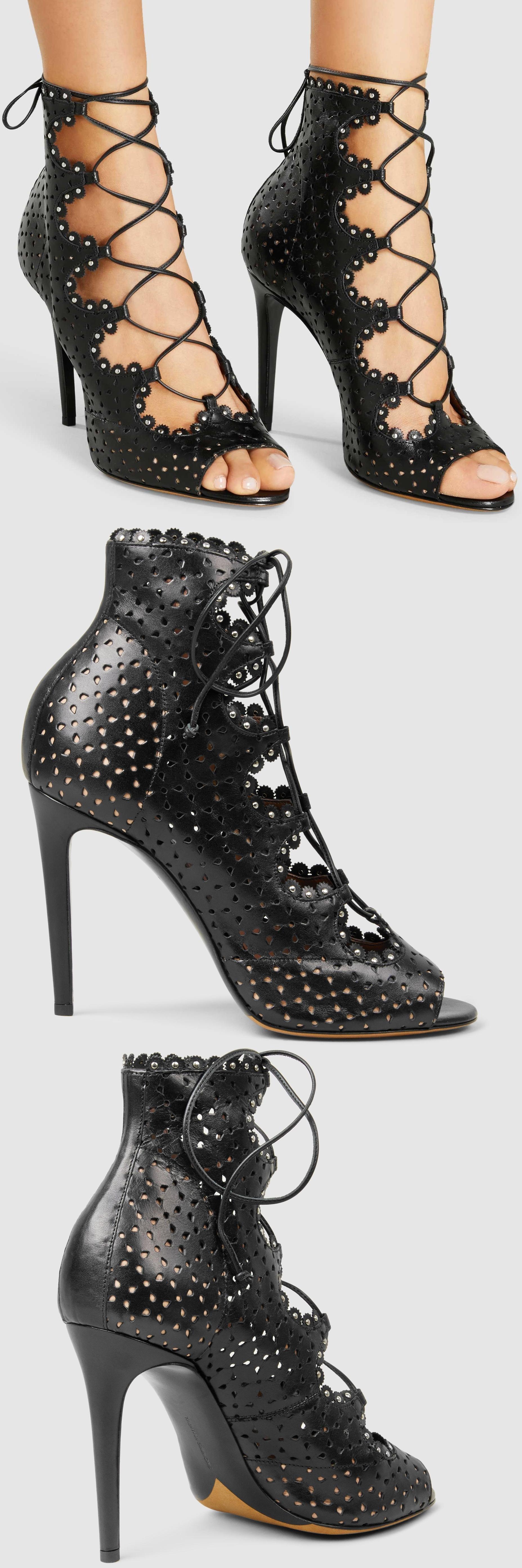your next shoes on | peep toe pumps, femininity and hemline