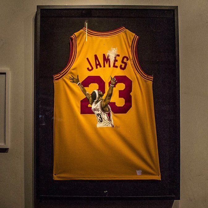 "LeBron's Witnesses on Twitter: ""This custom jersey 🔥 https://t.co/mOFcHKJVU0"""