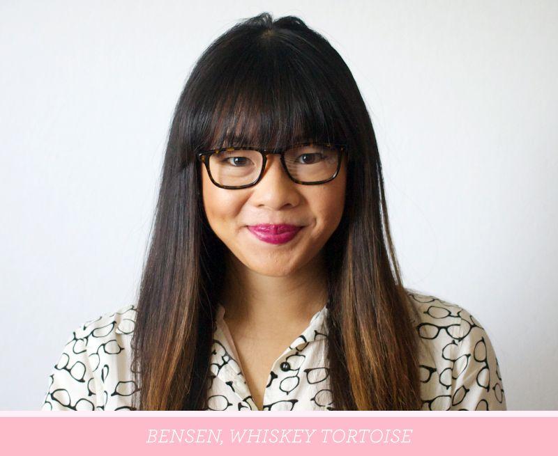 Warby Parker Bensen frames in Whiskey Tortoise. Help me choose my ...