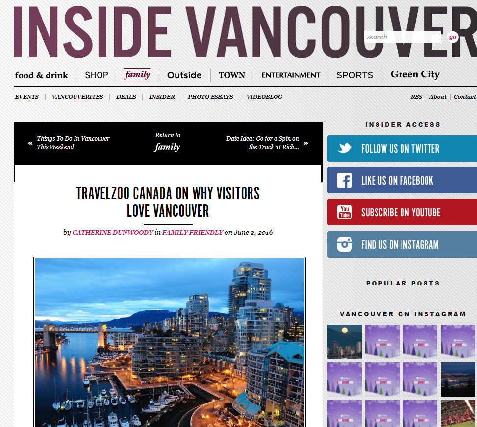 Vancouver Vacations Packages: Travelzoo Canada Phone Number