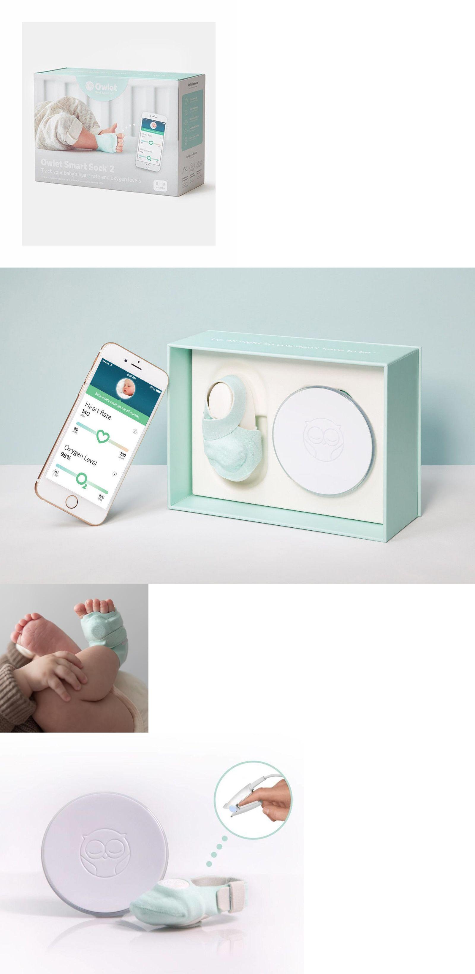 Baby Monitors Owlet Smart Sock 2 Baby Monitor New In Box