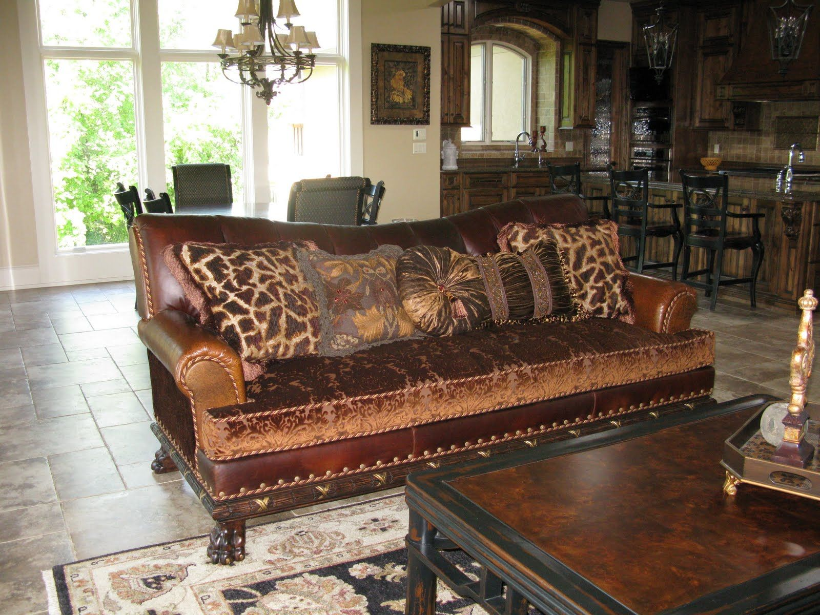 leather sofa fabric seat - Google Search | to decorate in ...