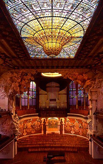 Palau de la Musica Catalana Barcelona, Spain   Palau de la Musica Catalana, Barcelona, Spain