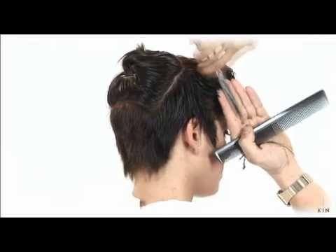 Como desmechar el pelo corto en casa