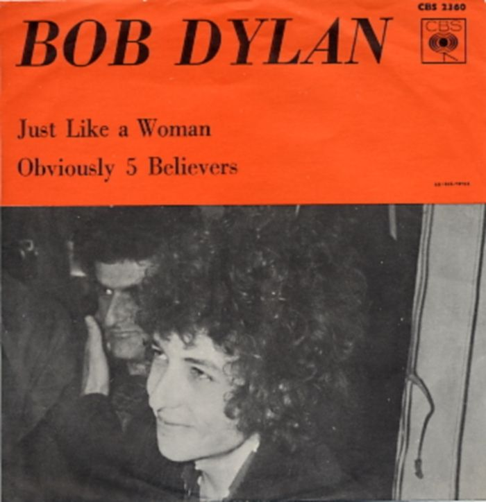 45cat - Bob Dylan - Just Like A Woman / Obviously 5 Believers - CBS - Sweden - CBS 2360