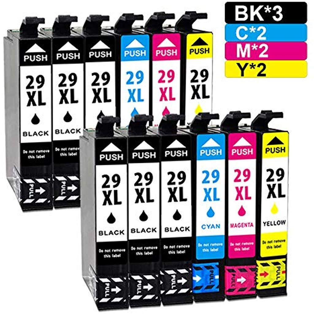 Jagute 29xl Druckerpatronen Kompatibel Fur Epson 29xl 29 Xl Patronen Fur Epson Expression Home Xp 235 Xp 245 Xp 247 Xp 332 Xp 335 X Tintenpatronen Patronen Usb