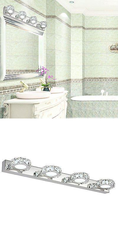 Led Lamps K9 10w Crystal Bathroom Light Fixtures Led Bath Vanity Wall Sconces Light Bathroom Light Fixtures Modern Bedroom Wall Sconce