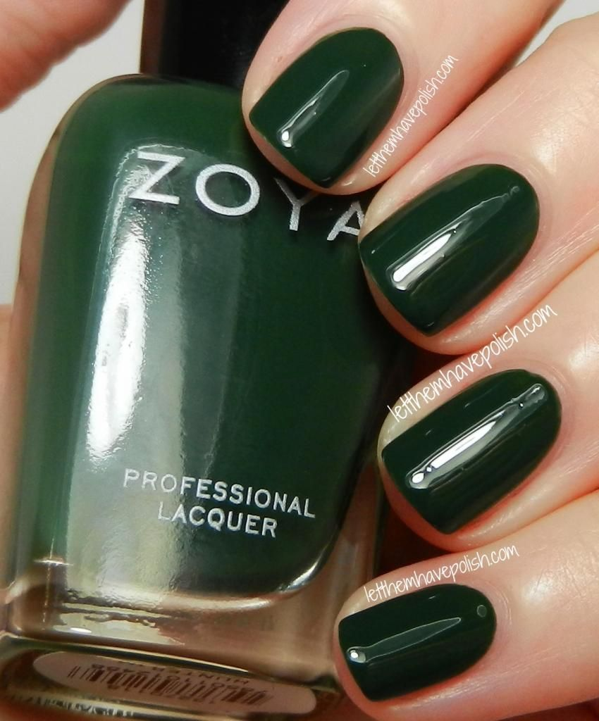 Zoya Cashmeres Fall 2013 Collection Swatches- hunter | Nails ...