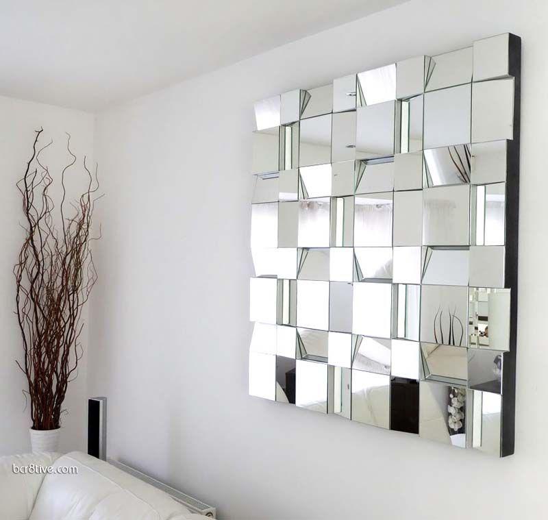 Creative Mirror Decorating Ideas | Tile mirror and Bathroom tiling
