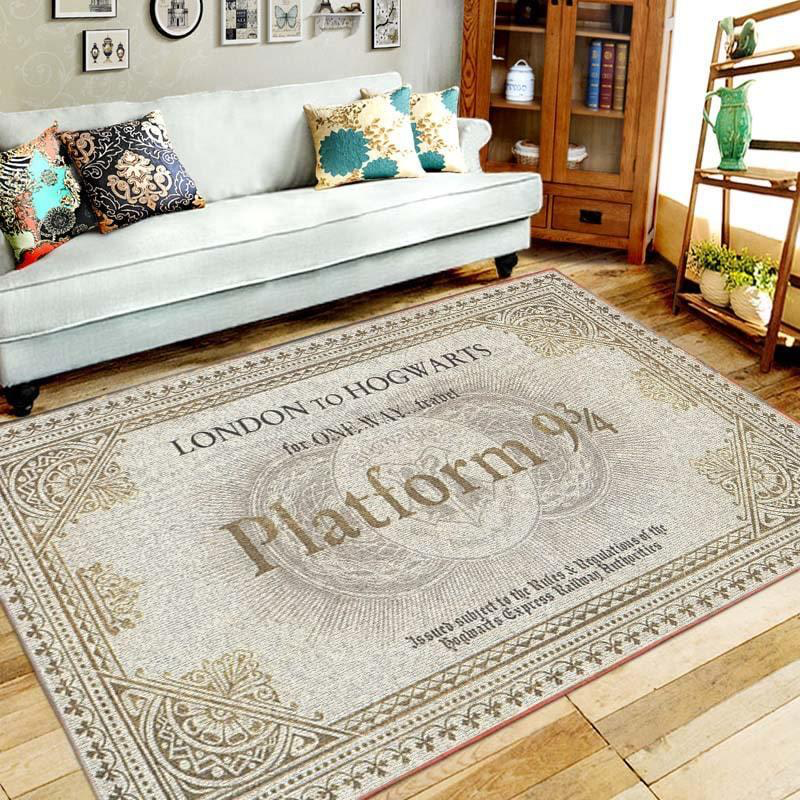 Harry Potter Rug Mat All Over Print Rugs Living Room Decor